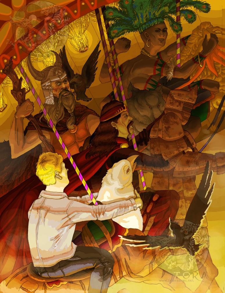 American Gods By Tigressinger On Deviantart