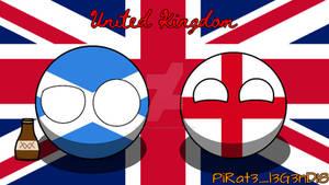 Countryballs England And Scotland