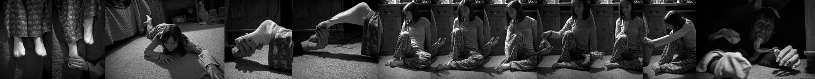 Photo Sequence: The Monster Under My Bed by Lizzie-Bitty