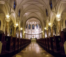 Church Interior Light
