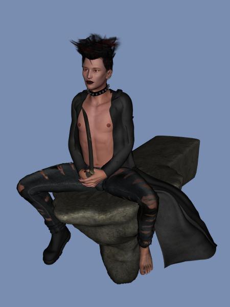 Shin, the Post-Apocalyptic Vampire