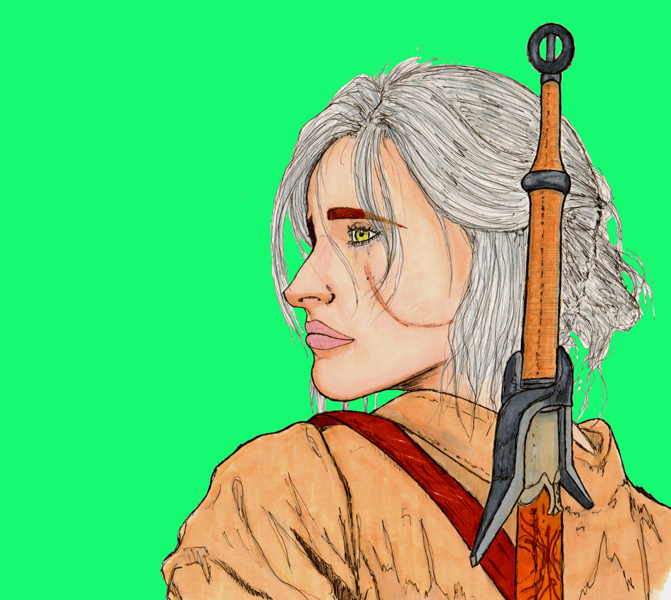 Ciri by ArtismyDeath