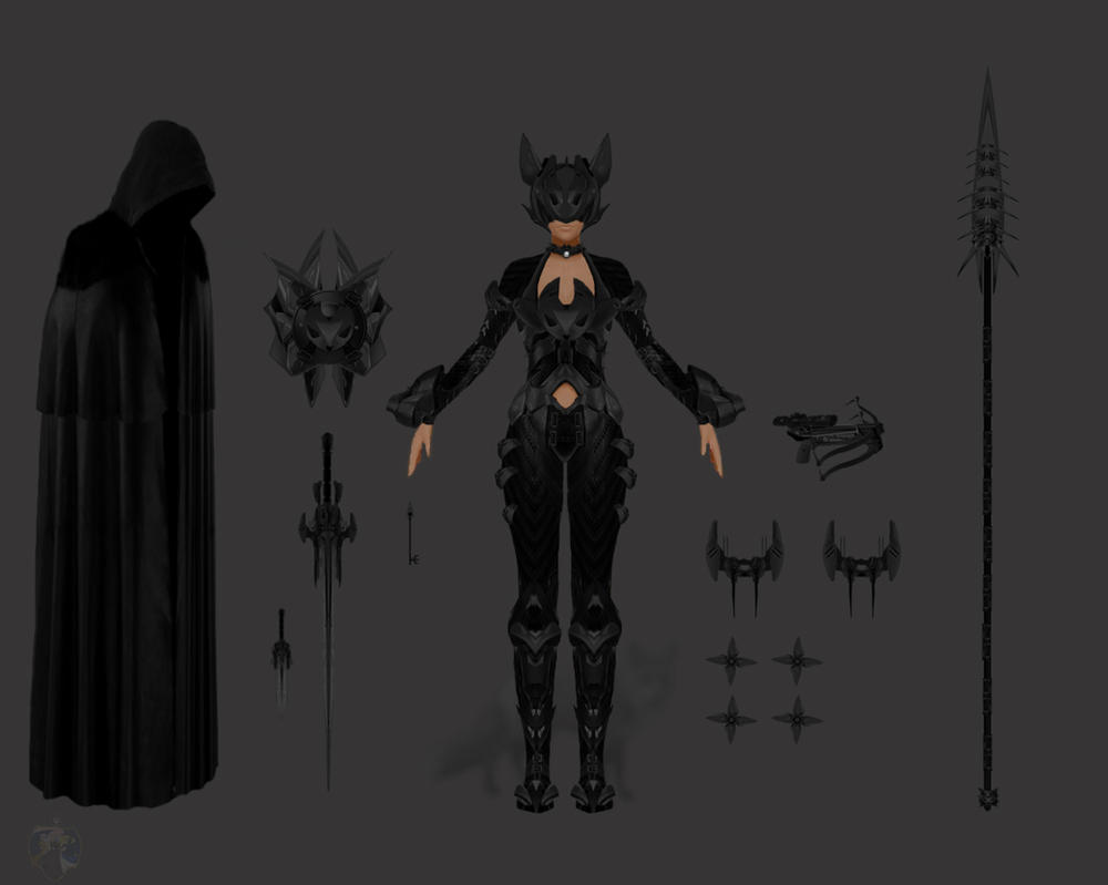 Anubis Armor by Tsujito