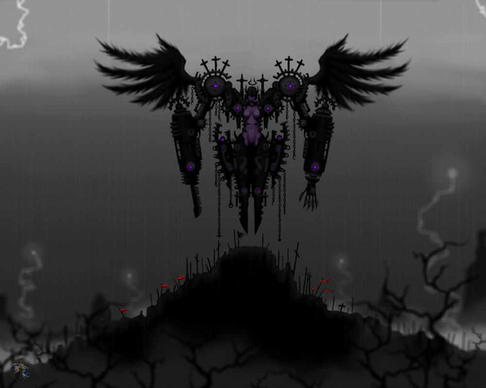 The Fallen Angel by Tsujito