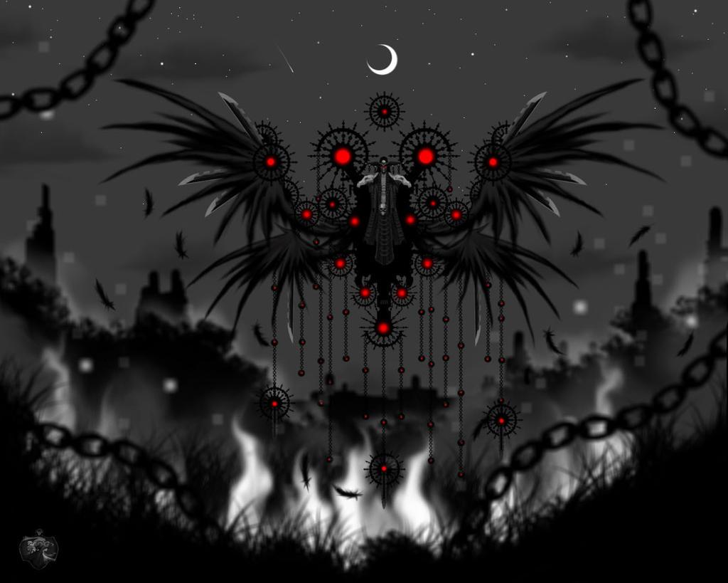 Demon of Vengeance by Tsujito