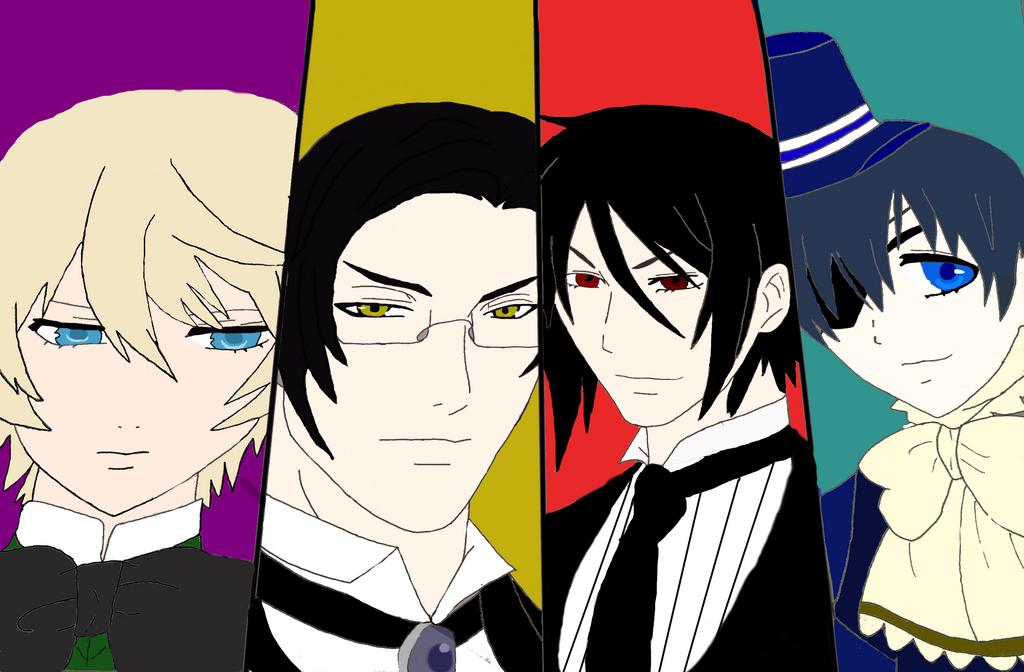 Kuroshitsuji Fan Art by TheSilentNeko