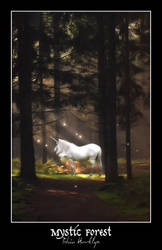 Mystic Forest - Print Update by talonian