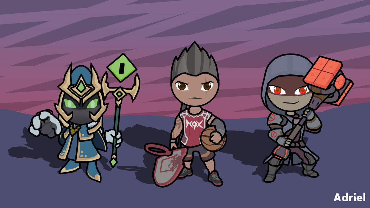 League of legends Chibis by adihunte on DeviantArt
