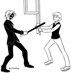 Crossover: Karma vs Shiro