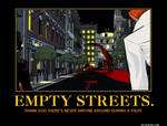Empty Streets Poster
