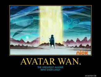 Avatar Wan Poster by Overlordflinx