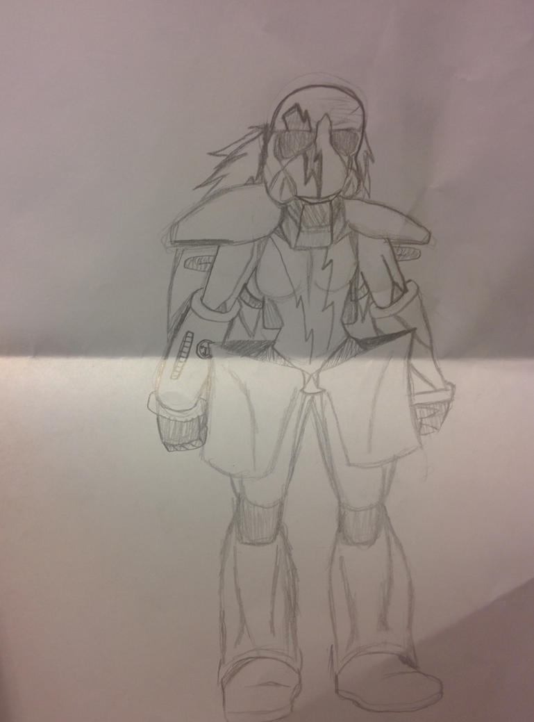 Lord dominator's new armor. The villain rises by Angelbrony