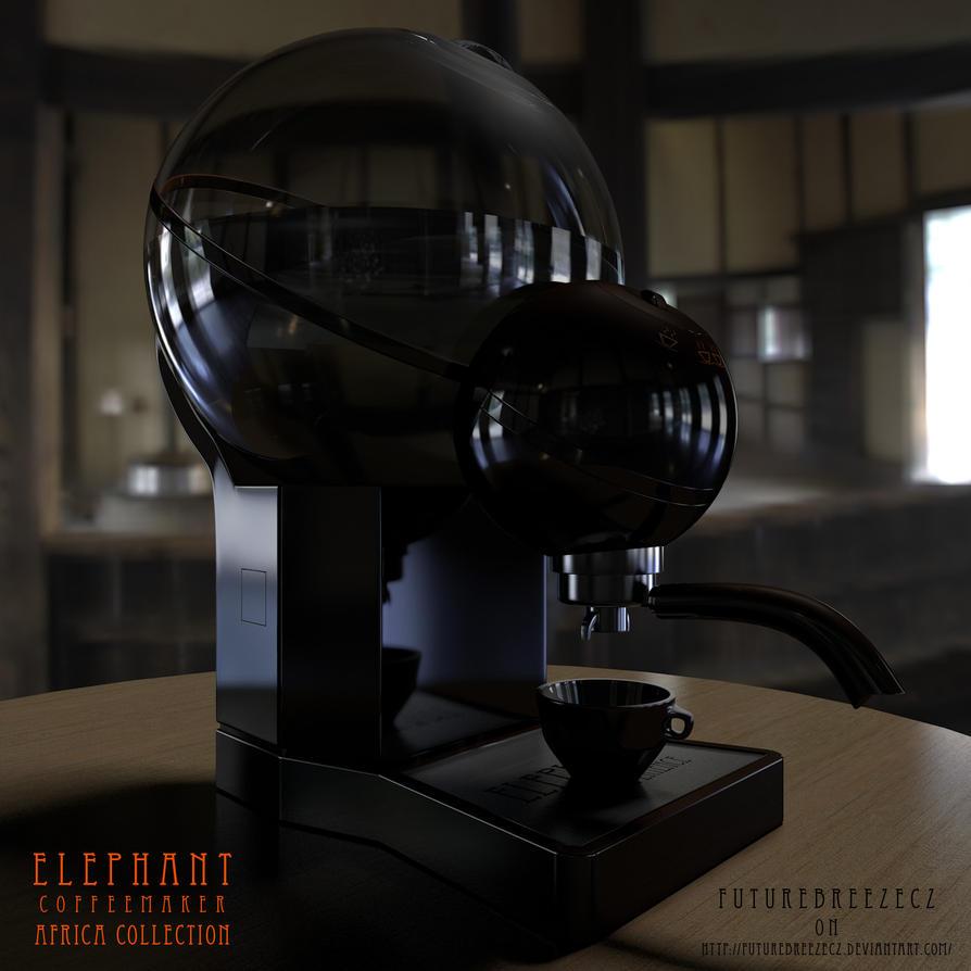 Elephant Coffeemaker preview by FutureBreezeCZ