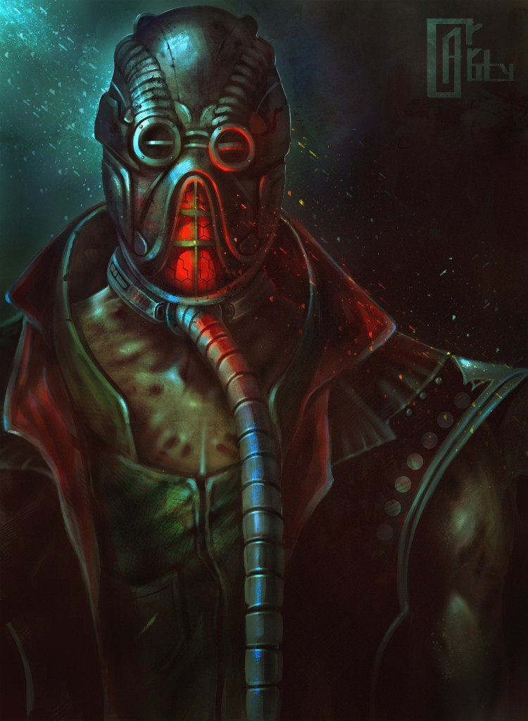 Kabal (Mortal Kombat) by AlexCarroty on DeviantArt