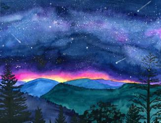 Good Night Smoky Mountians by Jlombardi