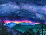 Good Night Smoky Mountians