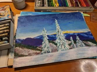 Winter Moutians by Jlombardi
