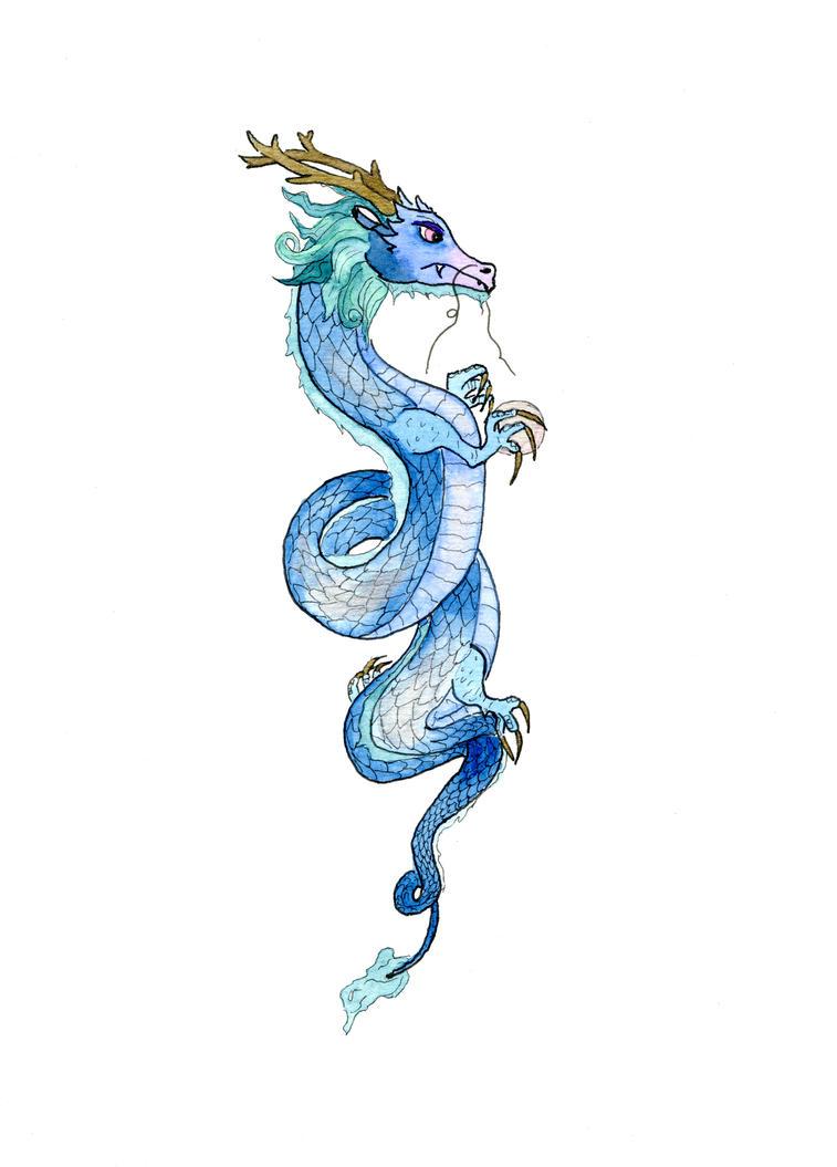 Blue Dragon by Jlombardi