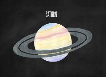 Saturn by Jlombardi