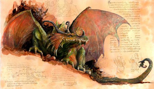 Handbook for Dragon hunters 33 by AkiraRuben
