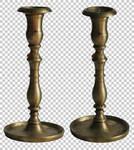 Vintage candlestick PNG