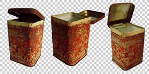 Rusty tea box PNG