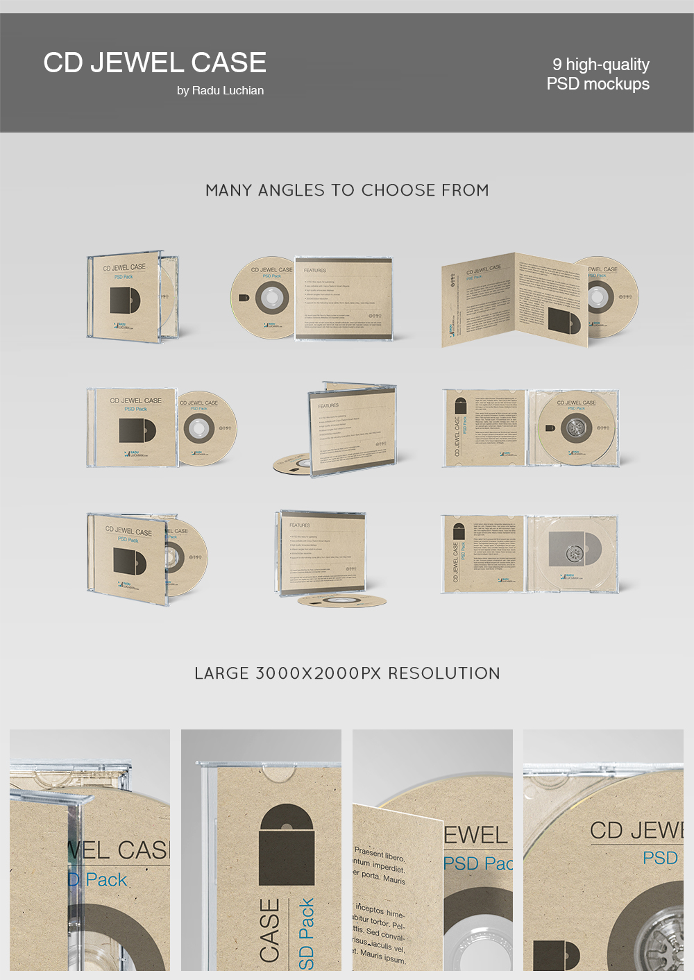 CD jewel case template by raduluchian on DeviantArt – Jewel Case Template