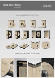 DVD keep case template