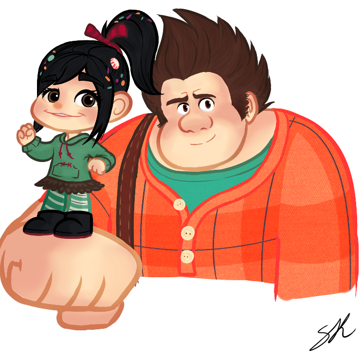 Wreck It Ralph And Vanellope Fanfiction Wreck-it ralph and vanellope