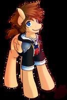 Sora Pony by shadowkixx