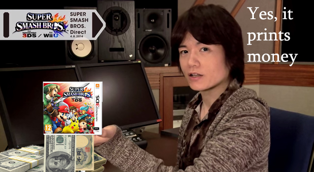 Sakurai does it print money? by Airplanepilot501