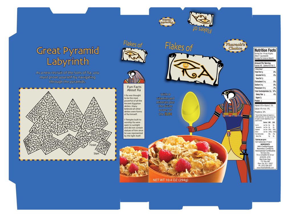 Flakes Of Ra Cereal Box By Papajohnny On Deviantart