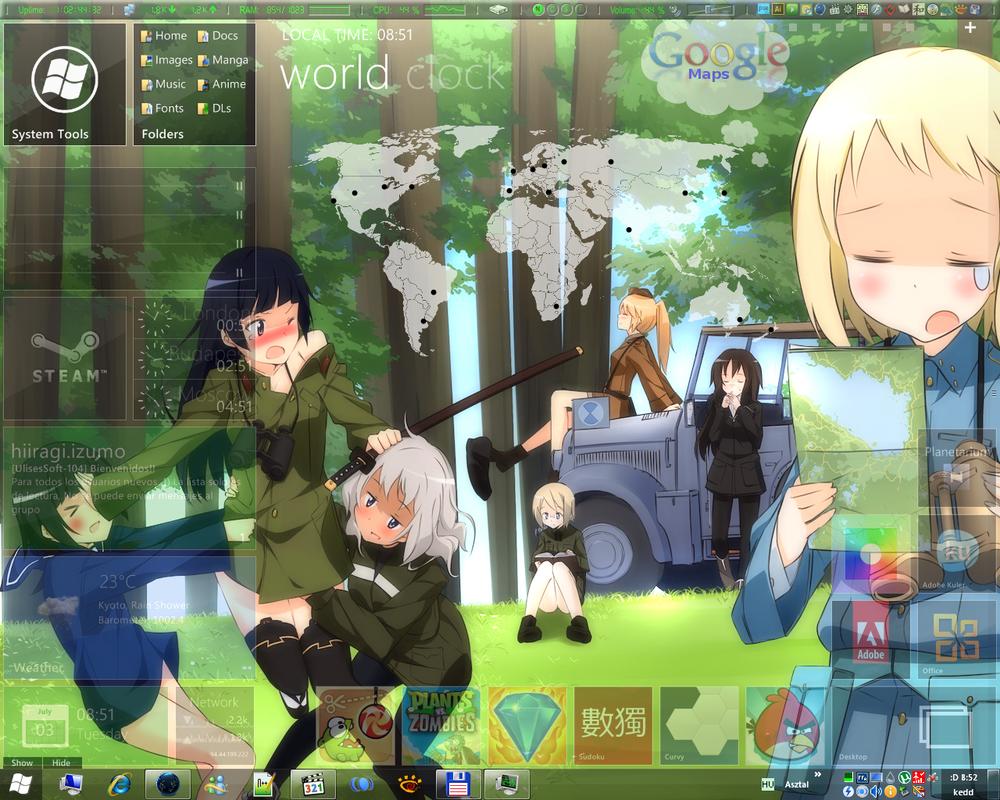 Suomus Misfits Desktop by urzuse7en
