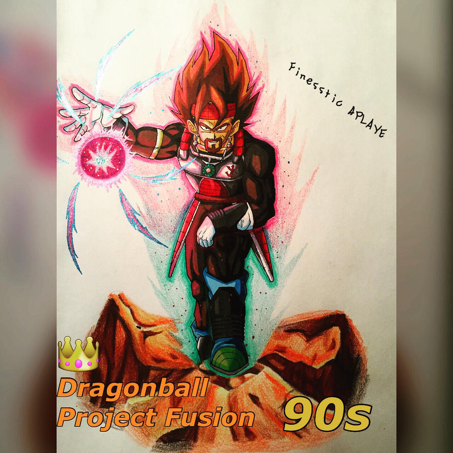 King Vegeta and Bardock Fusion by ChocolateGasMask26 on ...