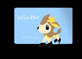 Deerling Winter Form by Augie-Ottie