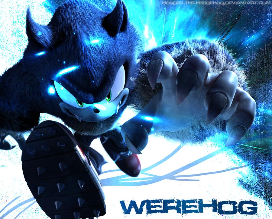 Werehog Wallpaper:: Fusion by SpyxedDemon