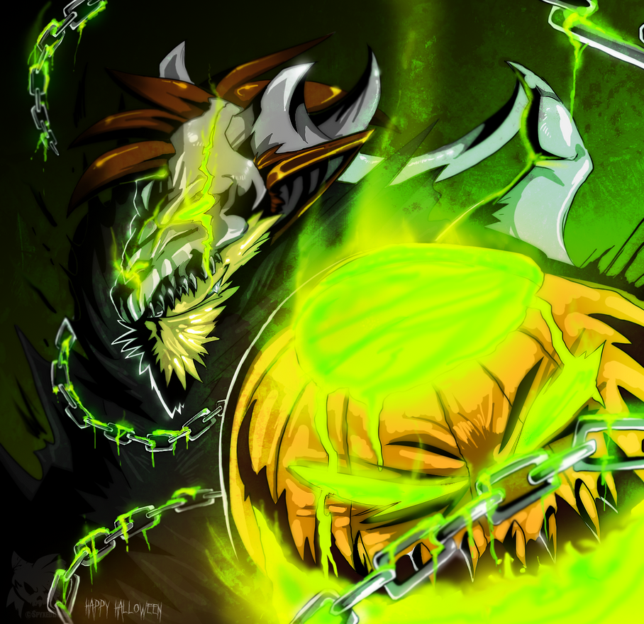 : Toxic Treat : by SpyxedDemon