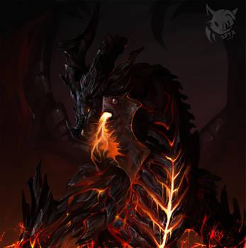 Deathwing // Neltharion by SpyxedDemon