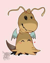 Dragonite Mimikyu by SpyxedDemon