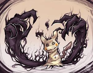 Pokemon Speedpaint: Haunted Mimikyu