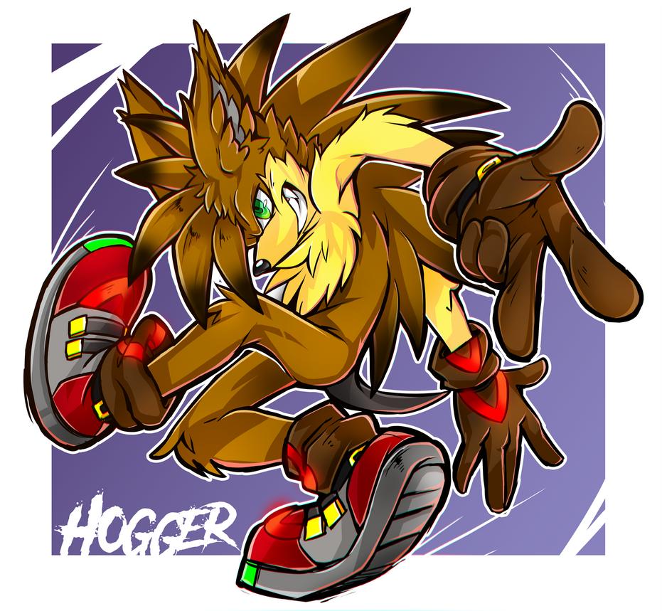 Hogger the Hedgehog!
