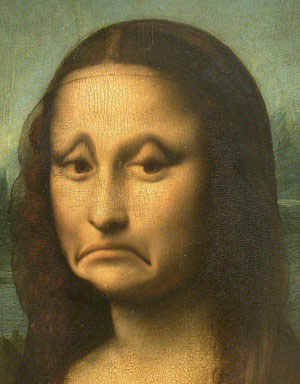 Sad Mona Lisa