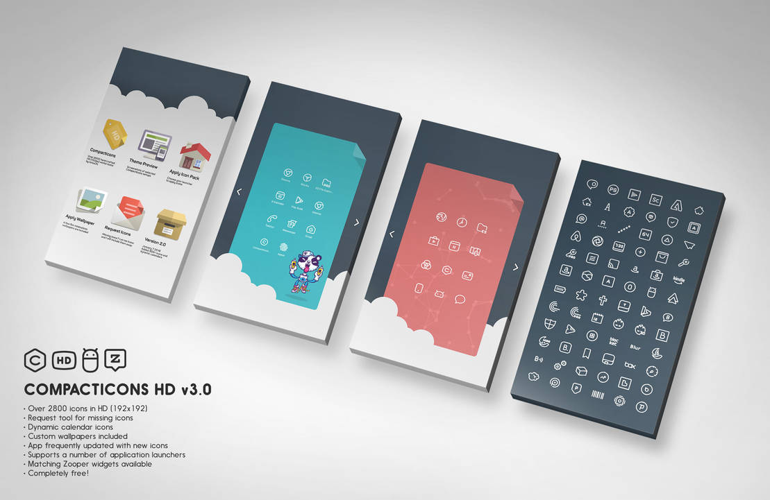 Compacticons HD for Android by tatosXL on DeviantArt