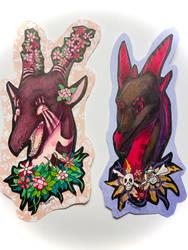zag and Valk badges