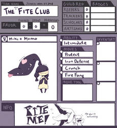 ToT || The (Not) Fite Club by borklet