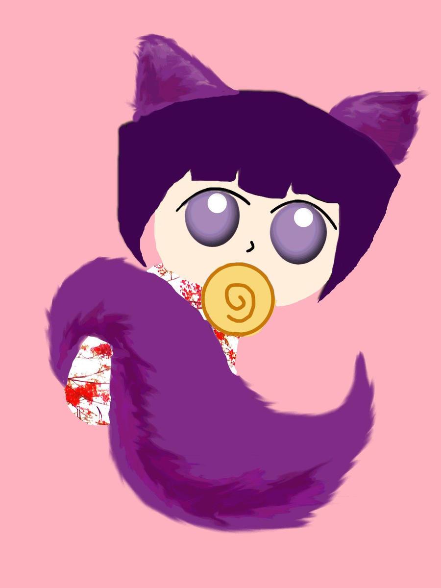 Kitsune Hime by 10HoneySweet17