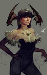 Darkstalkers FAIL w.i.p. by jeffsimpsonkh