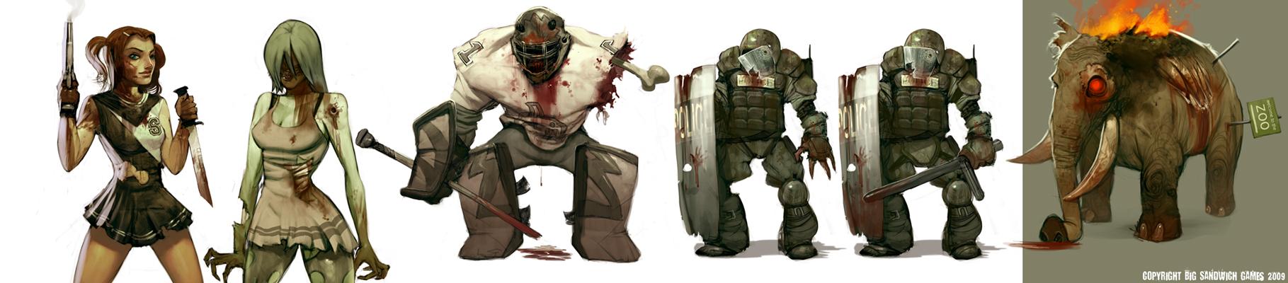 Work stuff - Zombies by jeffsimpsonkh