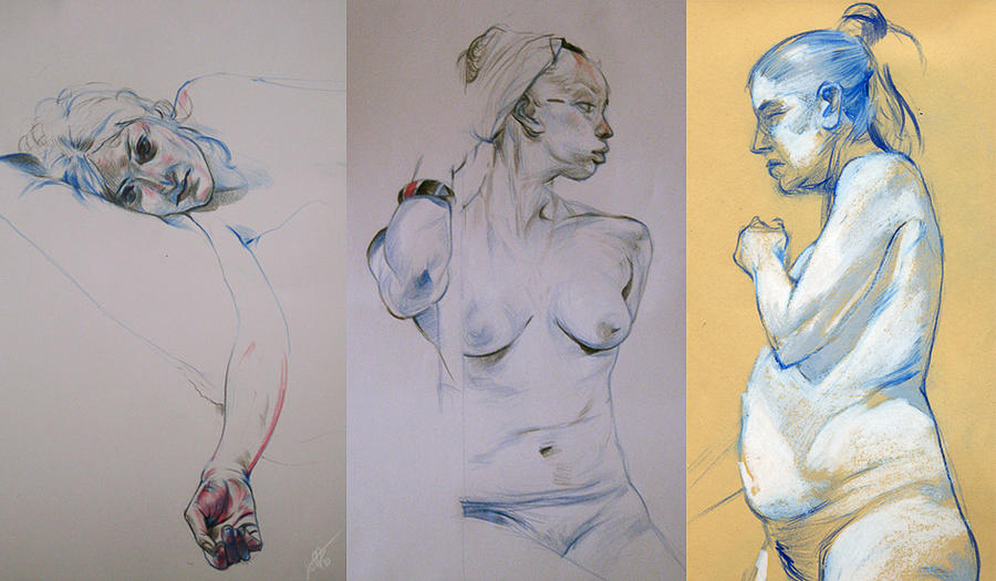 Life drawing 2010 by jeffsimpsonkh