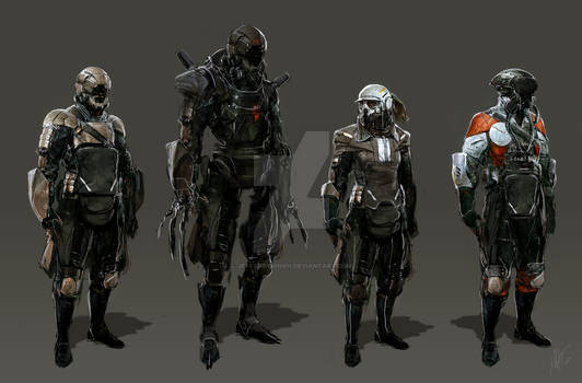 Sci Fi People 1